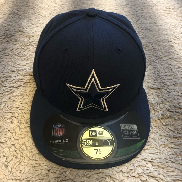 NFL Other - 🏈 NFL Dallas Cowboys Fitted Hat 7 1/4 Blue Star